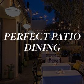Patio Dining
